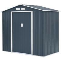 Abri de jardin acier 2,7 m2. avec kit dancrage inclus