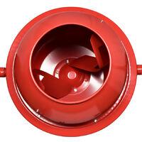 Hormigonera 70L 275W 220V Hormigonera eléctrica con dos ruedas con certificación Ce