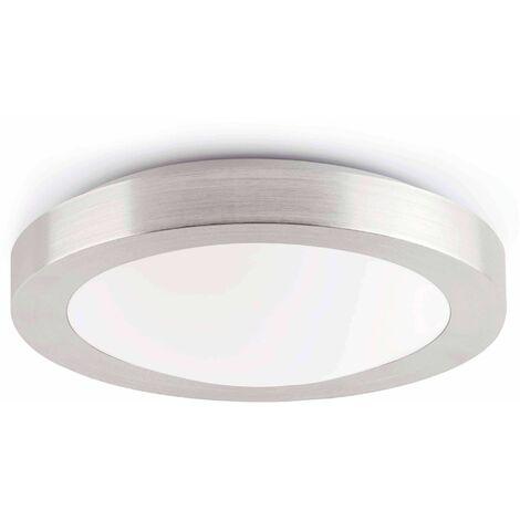 Gray bathroom ceiling light Logos 2 bulbs