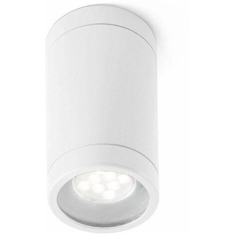 Olot 1-light white garden ceiling light