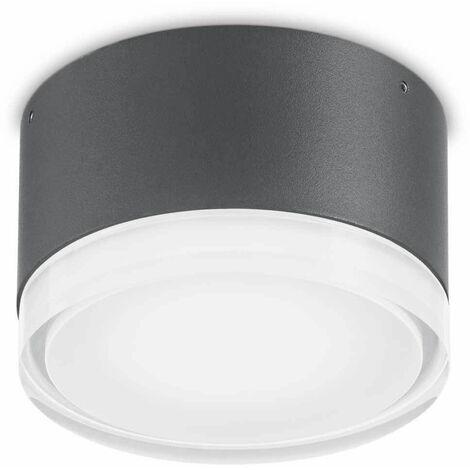 Anthracite URANO ceiling light 1 bulb