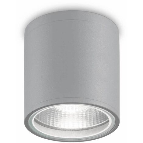 Gray ceiling light GUN 1 bulb