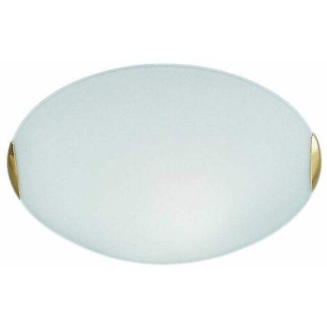 Ceiling light brass 1 Bulb