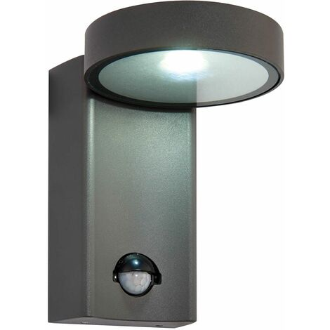 Oreti PIR outdoor wall light Aluminum alloy