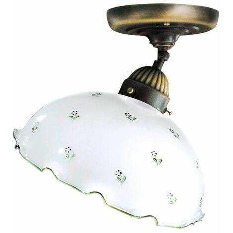 NONNA antique brass ceiling light 1 bulb 75W