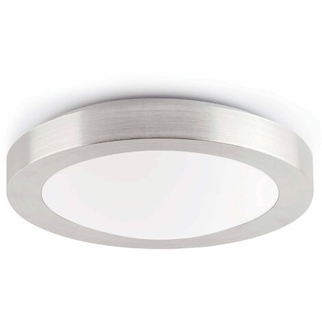 Gray bathroom ceiling light Logos 1 bulb
