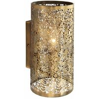 Secret Garden wall lamp, antique brass