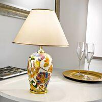 DAMASCO 24 Carat Gold Table Lamp 1 bulb Diameter 30 Cm