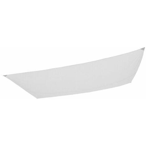 Resistente y Transpirable Color Grafito Cool Area Toldo Vela de Sombra Rectangular 4 x 6 Metros protecci/ón Rayos UV