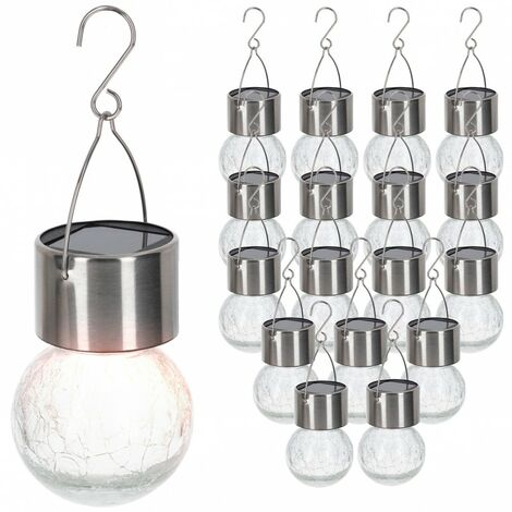 Pack 18 bombillas solares colgantes Aktive Tech
