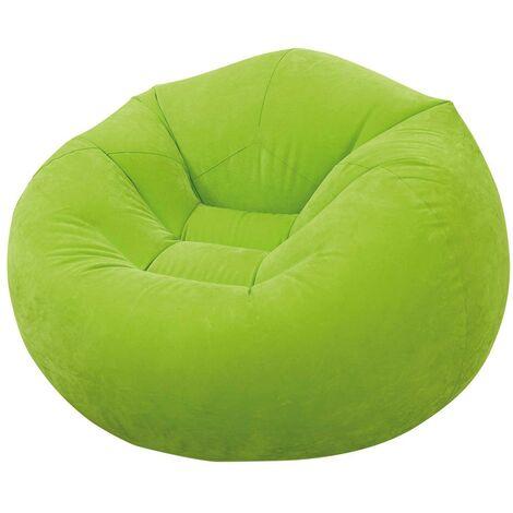 Sillón hinchable INTEX 107x104x69 cm - verde