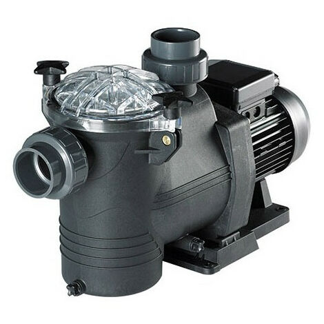 Pompe de filtration de piscine Astral New Europa - Débit pompe piscine: 7,5 m³/h - 0,5 CV - Alimentation électrique: Monophasé