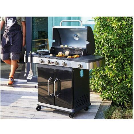 Barbecue gaz Fidgi - Nombre de brûleurs: 3 brûleurs + réchaud