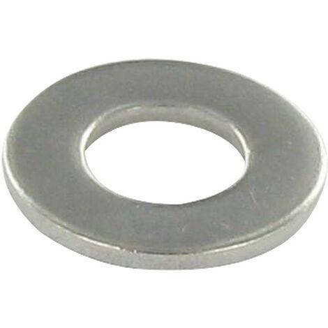 RONDELLE PLATE M10X27X2 L INOX A2   Conditionnement: Unitaire
