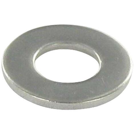 RONDELLE PLATE M10X27X2 L INOX A4 | Conditionnement: Unitaire