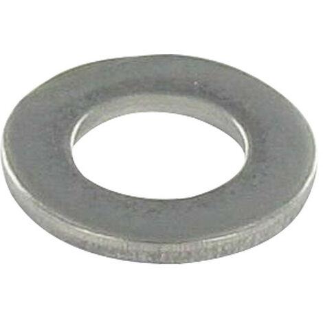 RONDELLE PLATE M5X10X1 Z INOX A2 NOIR | Conditionnement: Unitaire