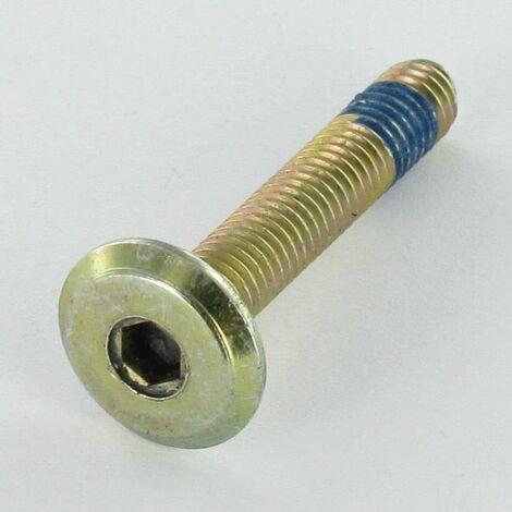 VIS METAUX TETE PLATE CLE DE 4 M7X35 PAS DE 150 BICHROMATE FREIN FILET | Conditionnement: Unitaire