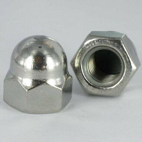 ECROU BORGNE INOX A2 M22 | Conditionnement: 20 pieces
