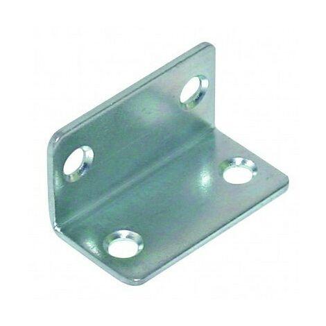 EQUERRES 45X25X25 DIAMETRE 6 ACIER ZING BLANC | Conditionnement: 500 pieces