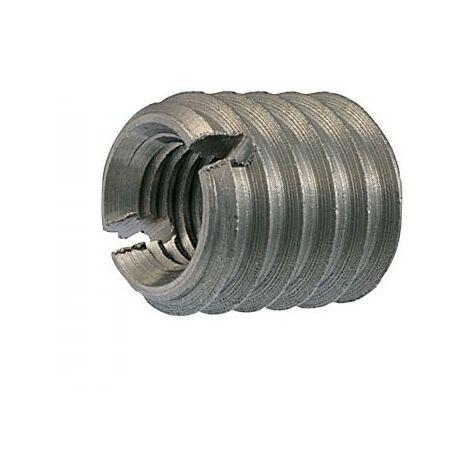 INSERT FENDUE FILETE BOIS M10 16X18 INOX A1   Conditionnement: 20 pieces