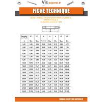 RONDELLE PLATE M5X10X1 Z ACIER ZINGUE NOIR | Conditionnement: Unitaire