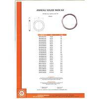 ANNEAU SOUDE INOX A4 3X20 | Conditionnement: 5 pieces