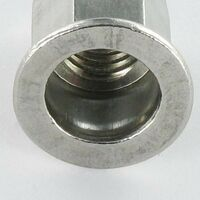 ECROU A SERTIR INOX TETE PLATE HEXAGONAL M4X11 INPTH 20   Conditionnement: 200 pieces