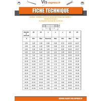 RONDELLE PLATE M6X18X1.2 L ZING NICKEL NOIR 480 HBS SANS ROUILLE ROUGE | Conditionnement: Unitaire