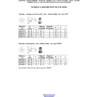ECROU A SERTIR INOX TETE PLATE HEXAGONAL M6X16 INPTH 30   Conditionnement: Unitaire
