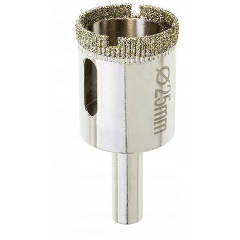 Scie cloche diamant 25 mm pour carreaux grès
