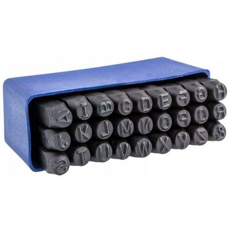 Numérateurs lettres estampage marqueurs 5mm 27pcs