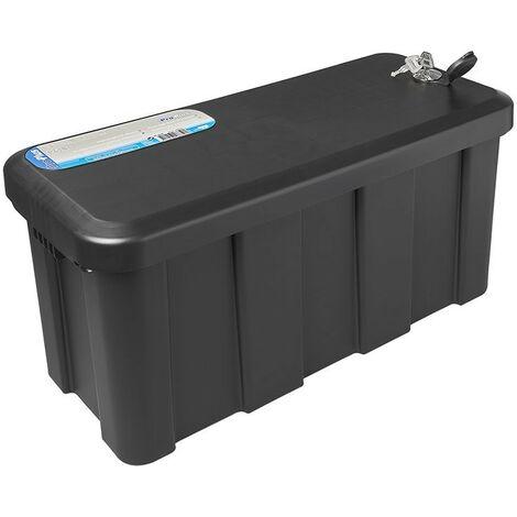 Coffre de rangement pour remorque en plastique 25L 565 x 245 x 290mm incl.
