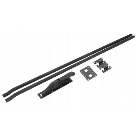 Loquet de garage + baskwil baskwile 250 cm noir