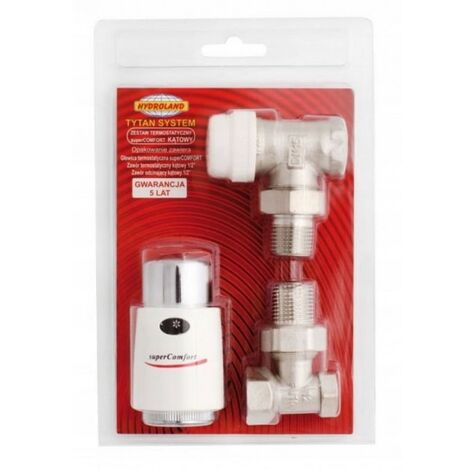 Kit de valve de radiateur thermostatique