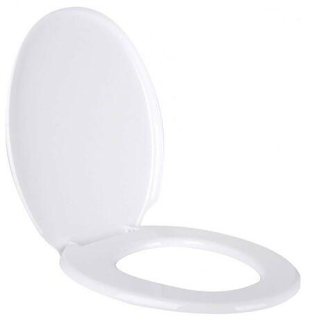 Tresice france-Abattant cuvette wc toilette - L 45 x l 36 cm - Blanc