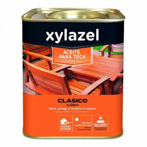 Xylazel huile pour teck incolore 0.750l
