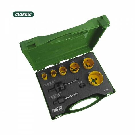 Coffret scies-cloche 19,22,32,38,44,57mm syj02