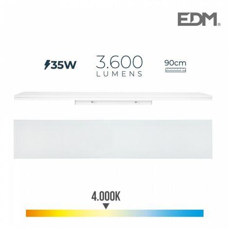 REGLETTE LED 35W 90cm 4000K LUMIERE NEUTRE 3600 Lm