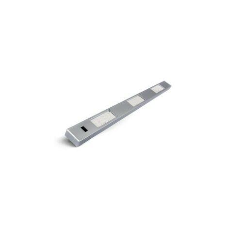 Réglette pour Cuisine ALBAN LED avec Hand Sensor - Aluminium Silver - Led intégrée 3x2W 600Lm 4000K - IP20 CLII