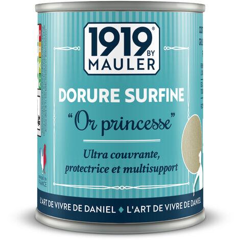 """Peinture dorée - Dorure Surfine """"Alu'Mignon"""" - aluminium 125ml"""