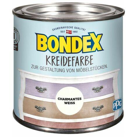 Bondex Craie couleur charmantes Blanc 0,5 l 386522