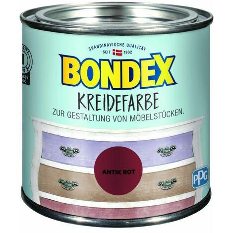 Bondex Craie couleur rouge antique 0,5 l 386532