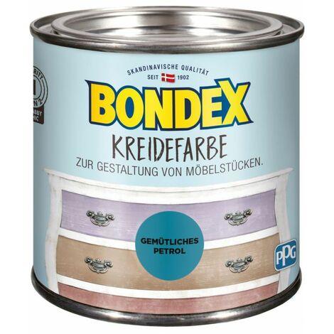 Bondex Craie couleur petrol confortable 0,5 l 386533
