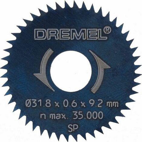 2 lames à reprendre/tronçonner 31,8 mm (546) Dremel