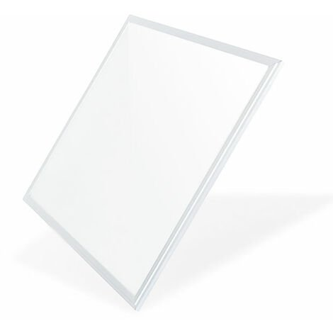 "main image of ""Panneau LED 60X60 cm 42W Cadre Blanc 4200Lm Blanc Neutre 4500K   IluminaShop"""