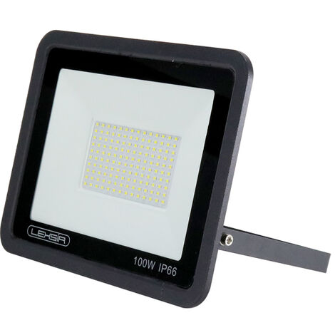 Projecteur LED SMD Lexsir 100W Dimmable IP66 Blanc Froid 6000K | IluminaShop