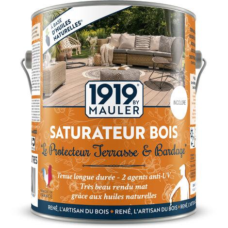 """Saturateur Bois - huile végétale """"Le Protecteur"""" - Incolore 2L5 - mat incolore"""