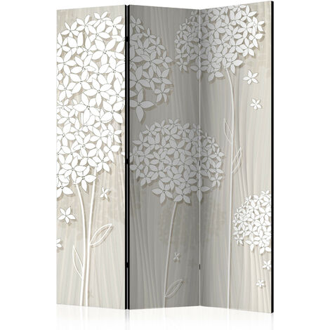 Biombo - Creamy Daintiness [Room Dividers] - 135x172