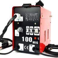 Poste à souder fil continu MIG-100 SANS GAZ Soudeuse aérée avec accessoires