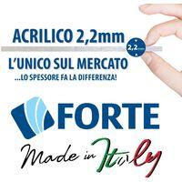 Cabine douche 70x120 CM en acrylique mod. Mercurio 2 avec ouverture centrale